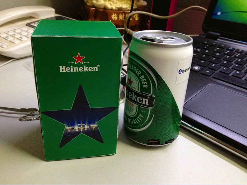 Heineken Beer Bluetooth Speaker