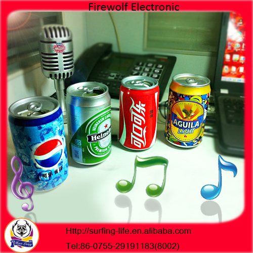 Beer Can Speaker For Promotion