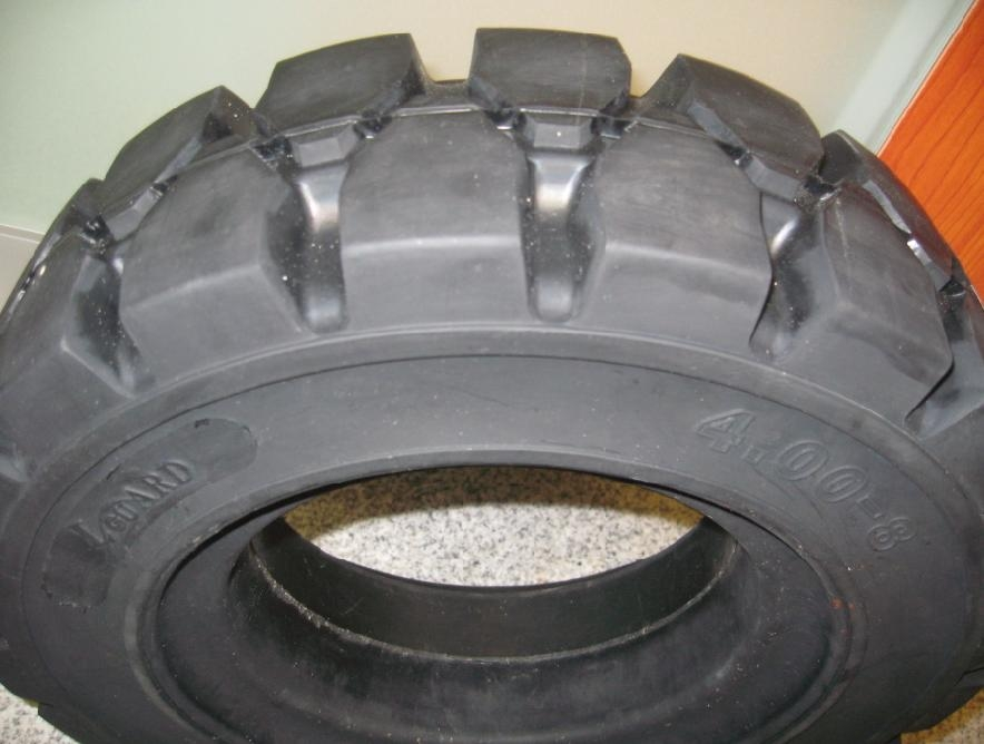 L-guard forklift Pneumatic shaped solid tire 12.00-20