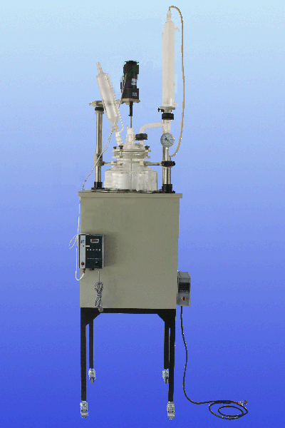 HEB-80L Jacketed Glass Reactor