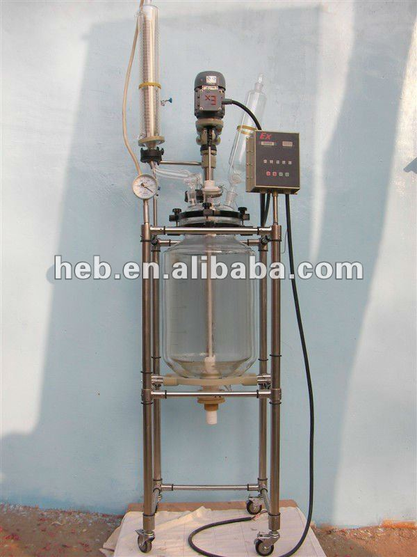 EX-50L Jacketed Glass Reactor