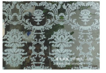 acid etched mirror
