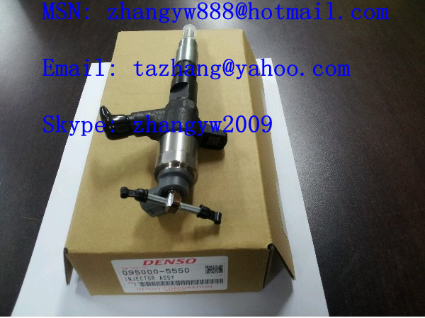Denso common rail injector 095000-5550 for HYUNDAI Mighty County 33800-45700