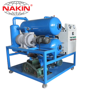ZYD Double stages vacuum transformer oil purifier