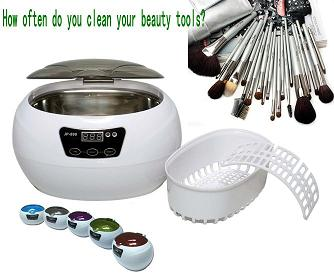 mini beauty tool ultrasonic cleaner