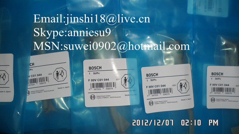 Bosch original common rail injector valve F00VC01044