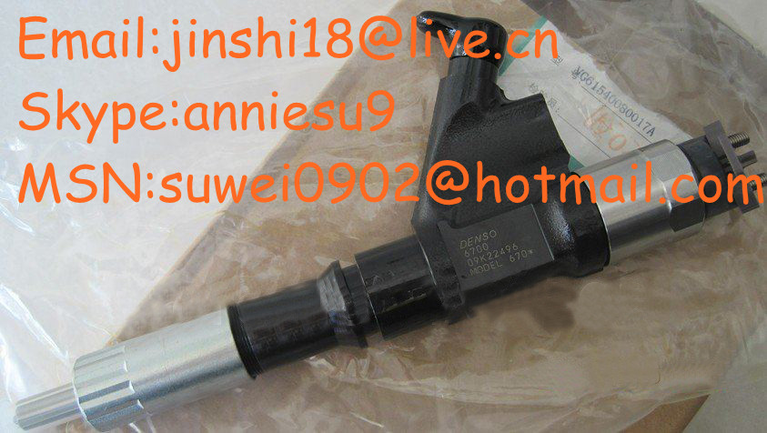 Denso common rail injector 095000-6700 for HOWO VG1246080051