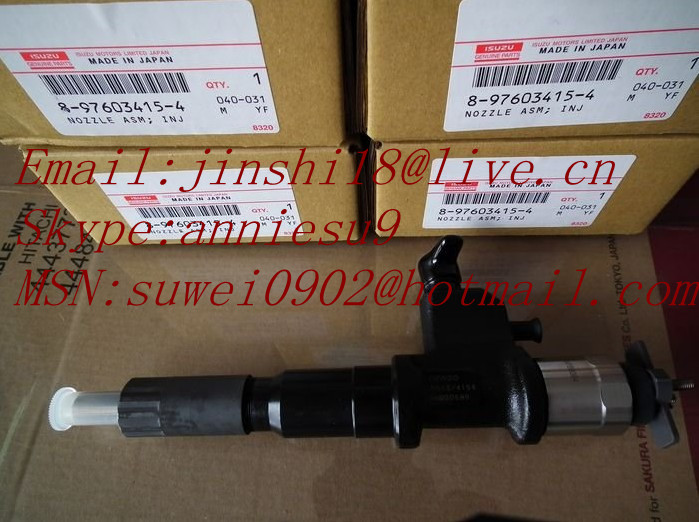 Denso common rail injector 095000-5511 for ISUZU 4HK1-T 8976034152