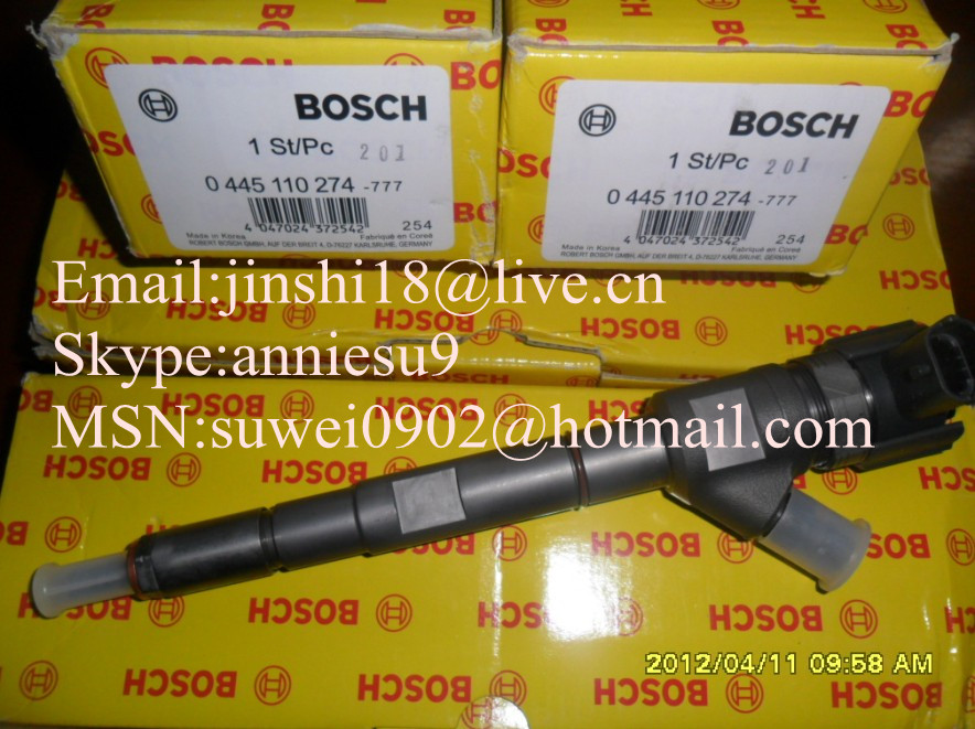 Bosch Common Rail Injector 0445110274 For HYUNDAI 33800-4A500