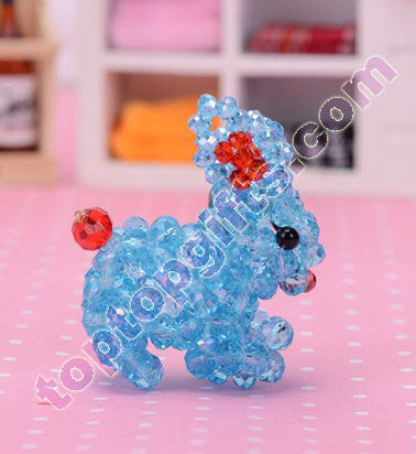 6mm rondelle crystal diy 3d beaded bunny iphone5 charm