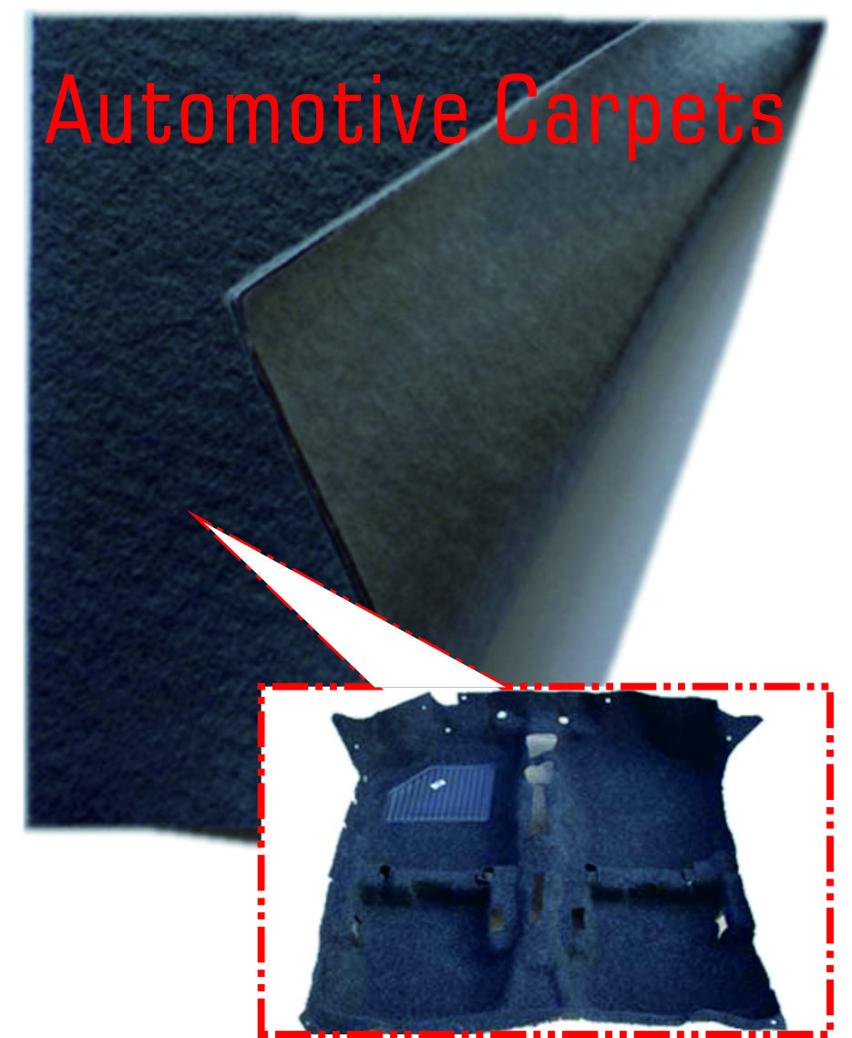 Auto/Car Carriage Carpet Nonwoven Fabric(Raising)