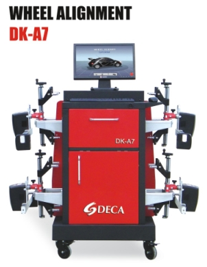 workshop equipment (CCD wheel alignment with bluetooth)DK-A7