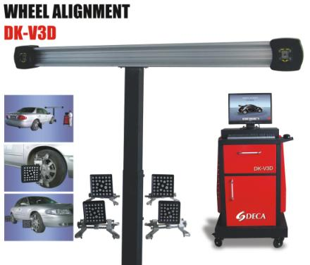 garage equipment (3D wheel alignment with advanced technology)
