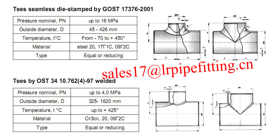 GOST tee 17376-01
