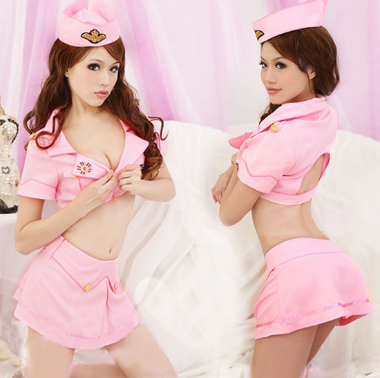 Asian sexy school girl costume apparel stock excess inventory
