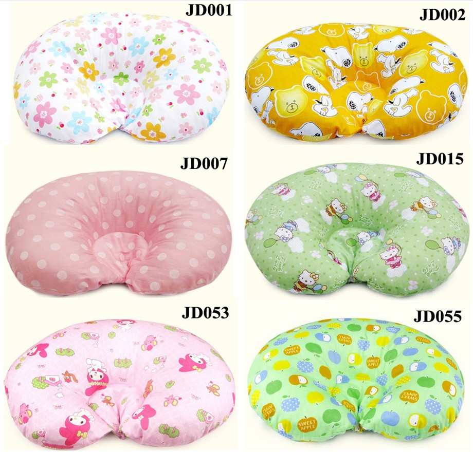 Baby Infant Newborn Prevent Flat Head Special Pillow Shape
