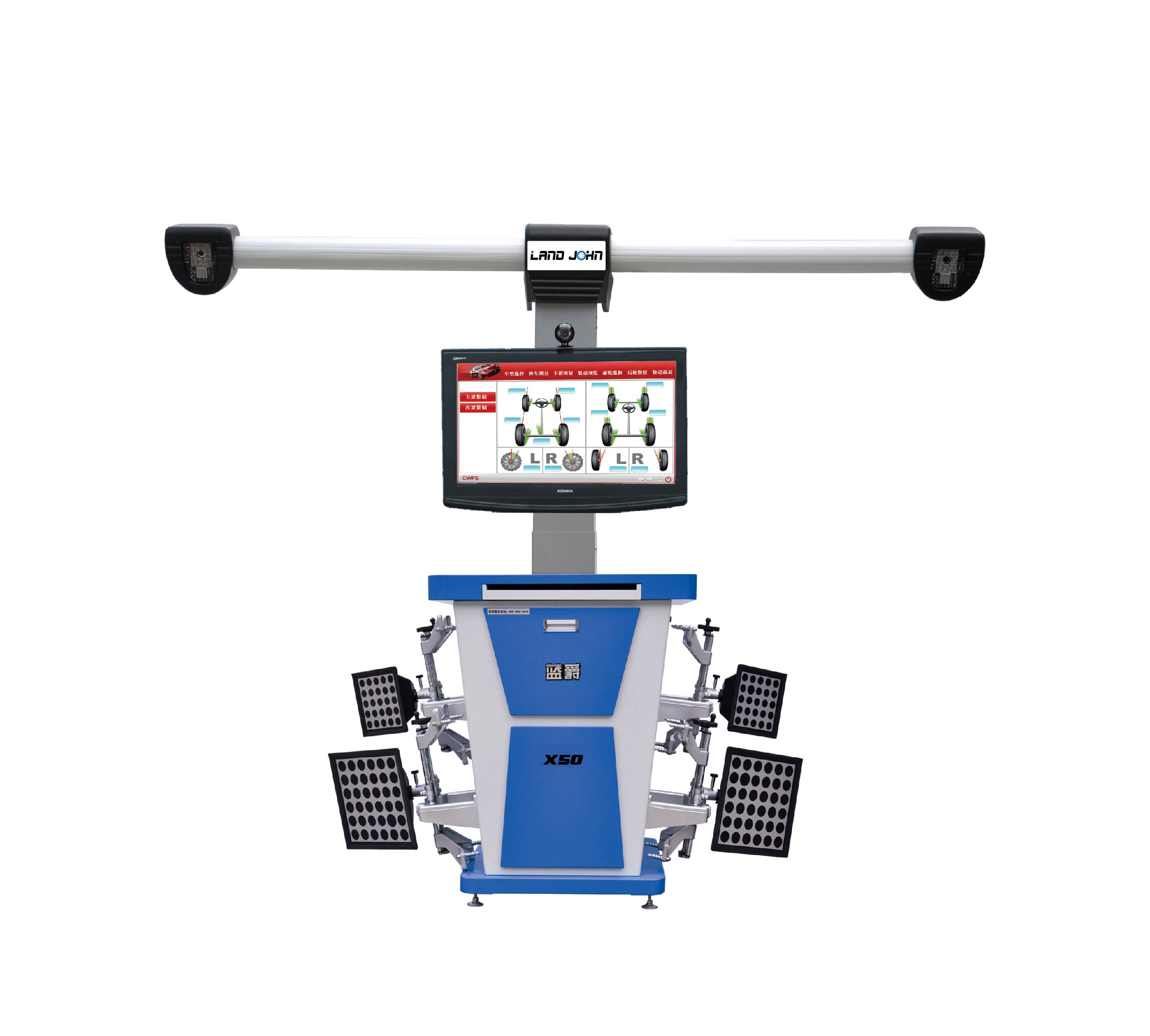 Road Buck Intelligent wheel alignment  with CE & ISO Certificate