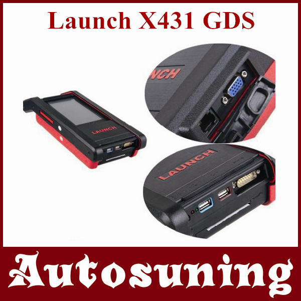 Launch X431 GDS with 3G Wireless Communications Internet for Cars / Trucks