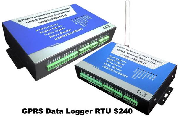 GPRS RTU Telemetry Data Logger