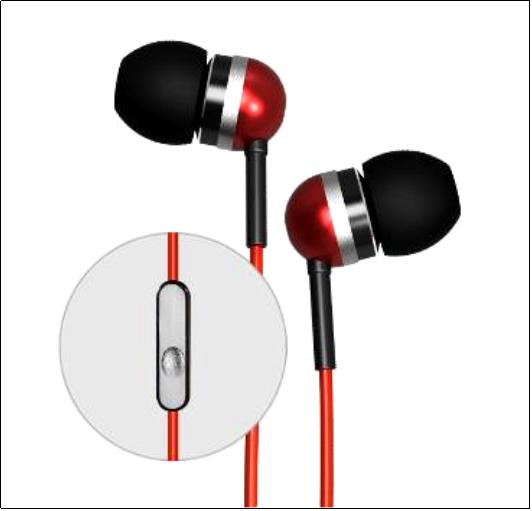 Hot selling metal earphone