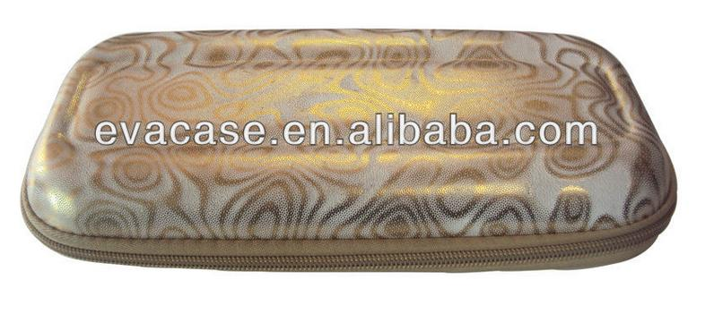 Golden customized EVA cosmetic gift case