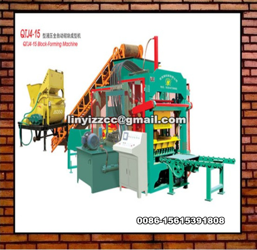 QTJ4-15 Block Forming Machine