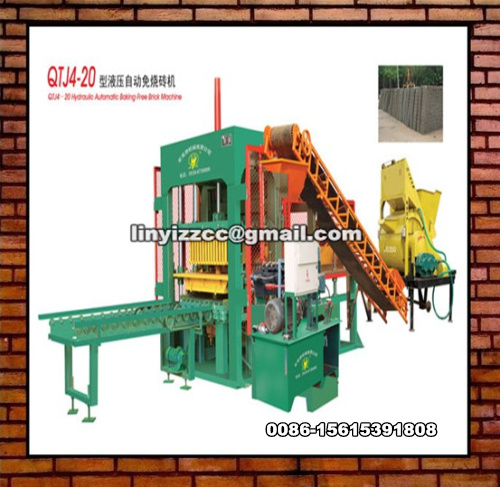 QTJ4-20 Brick Making Machine