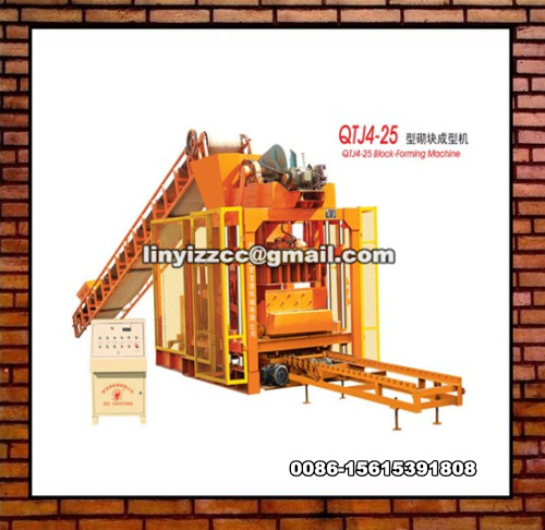QTJ4-25 Brick Making Machine
