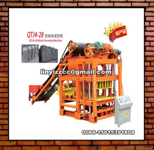 QTJ4-28 Brick Making Machine