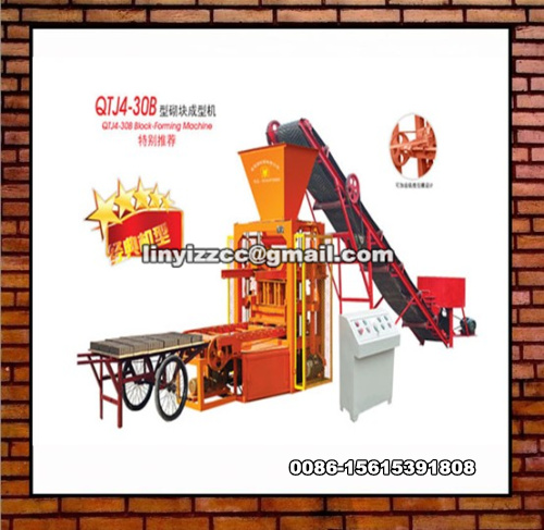 QTJ4-30B Brick Making Machine