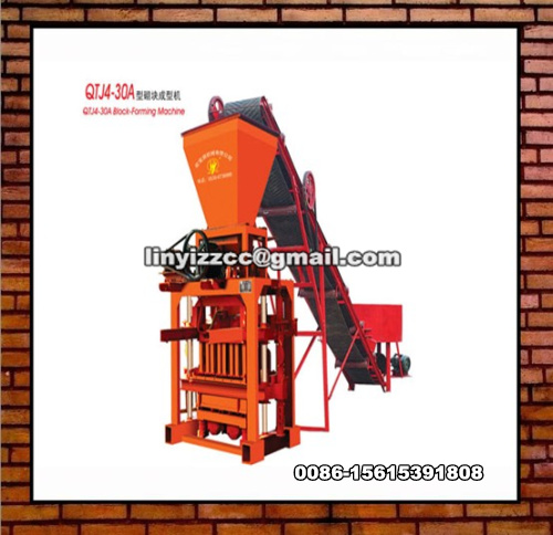 QTJ4-30A Brick Making Machine