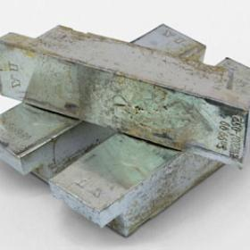 Tin ingot pure
