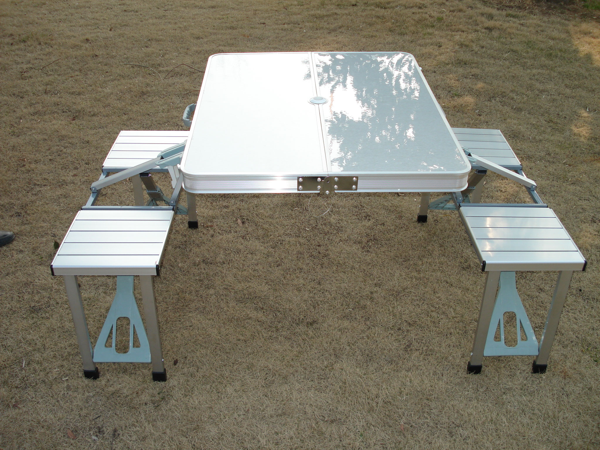 folding tables and chairs portable table sets Camping Sports and