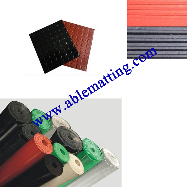 Electrical Insulation Rubber Mat, Switchboard Matting