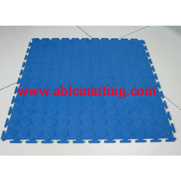 Modular Garage Flooring, Interlocking PVC Flooring Tile