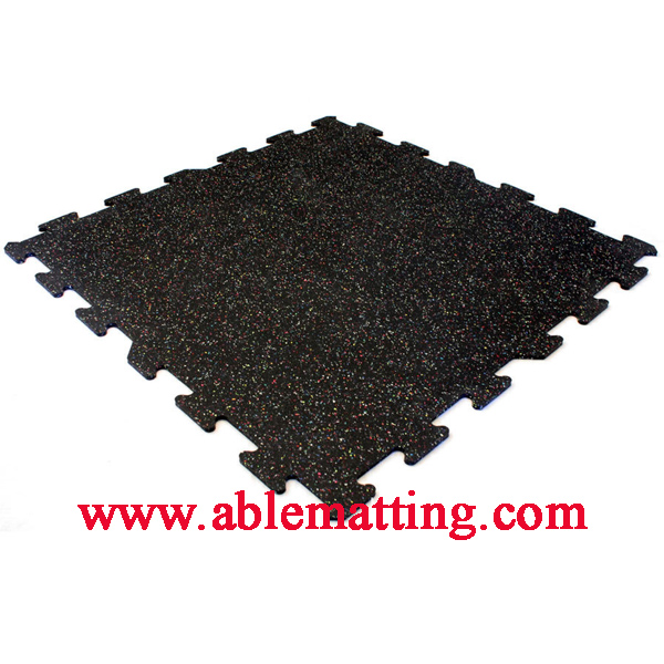 Gym Mat, Playground Matting, Interlocking Rubber Tile