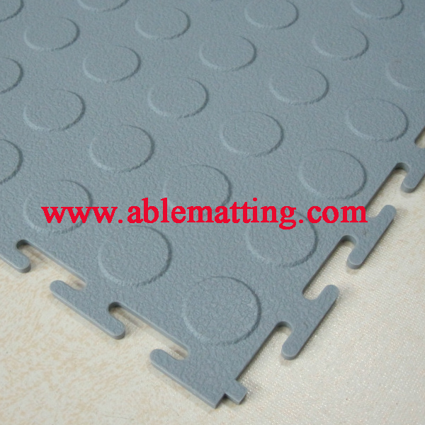 Gym Floor Mat, Playground Floor Matting, Interlocking PVC Tile