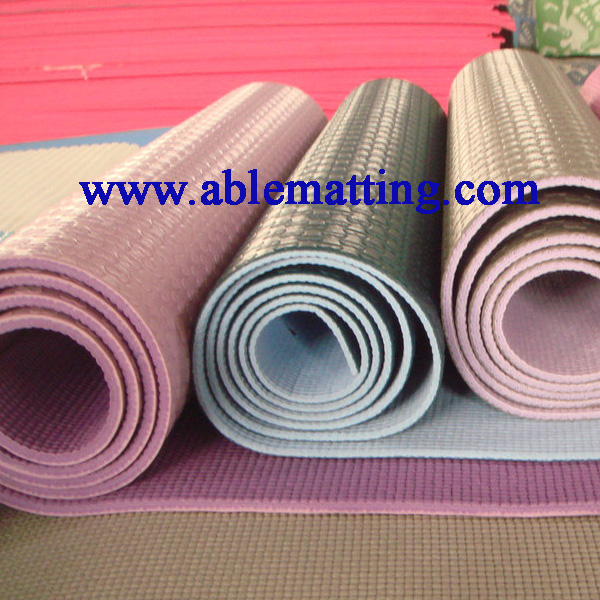 Yoga Mat (made of PVC foam)