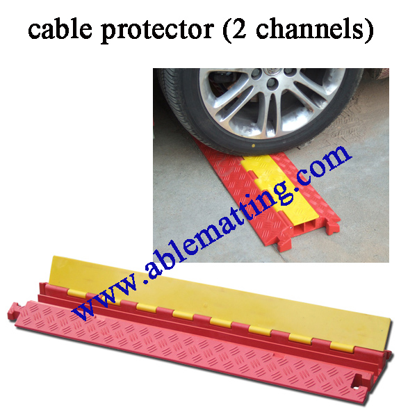 Cable Protector, Cable Cover (2 channel)