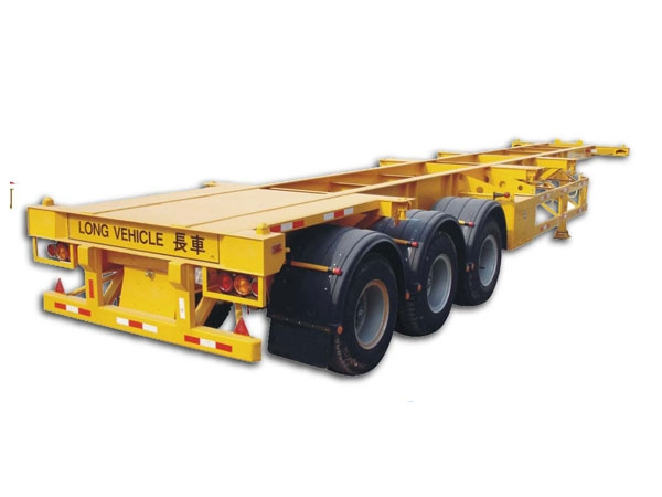Golden brand 3 axles skeletal semi-trailer