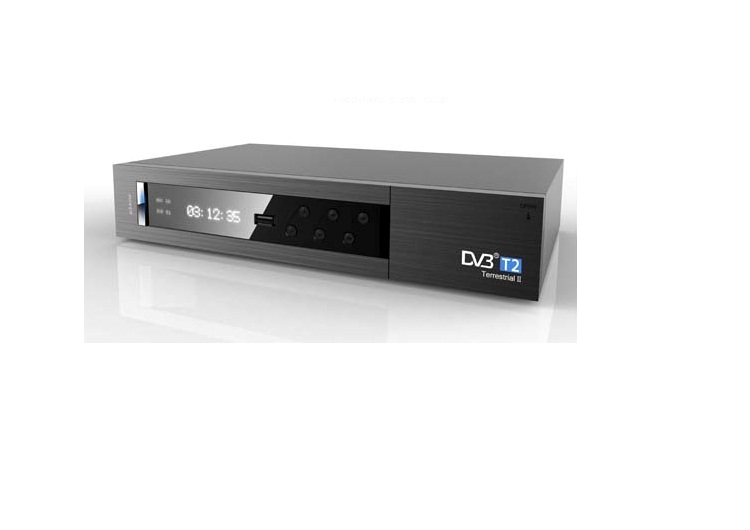 High definition television Set Top Box DVB - T2 digital television receiver dvb t2 tv box