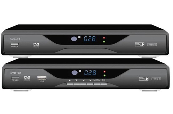 High definition digital Set Top Box DVB - T television receiver