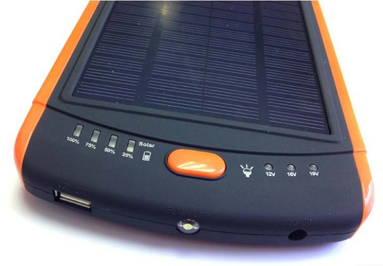 Large capacity 23000mAh Universal business travel mobile Solar power bank