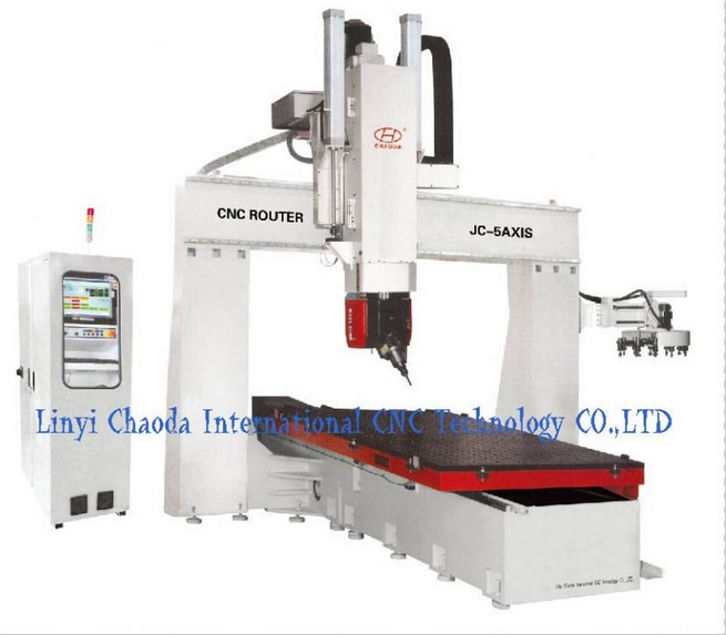 5 Axis Woodworking CNC Router