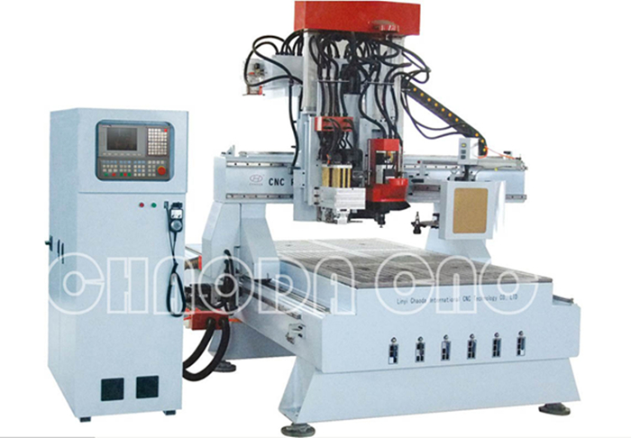 JCT1325R ATC milling sawing drilling compound processing cnc router