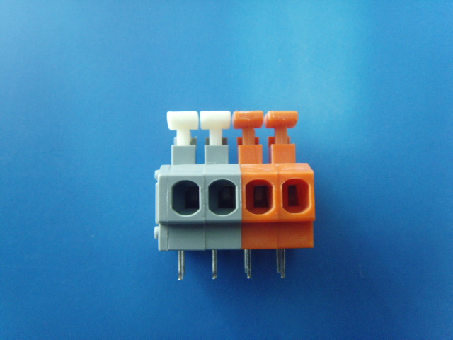 Terminal Pitch 5 0mm 2p 3p Pcb Terminal Block Connector 连接