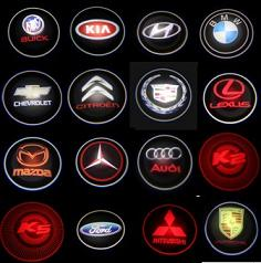 LED Car Logo Laser Door Lights 2013,Custom Design Available!