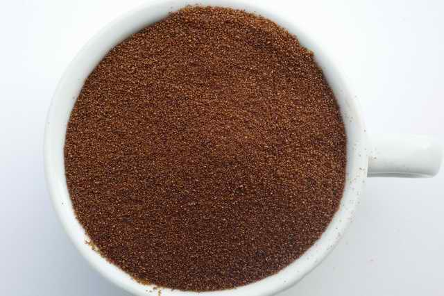 spray-dried instant coffee