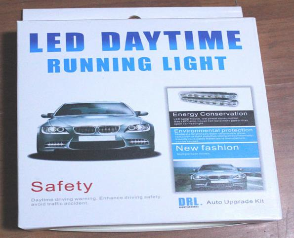 LED Daytime Running Lights 8LEDs Universal Model