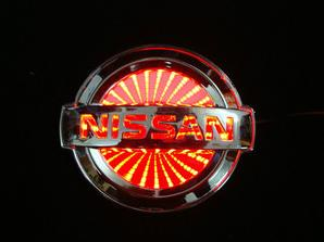 LED Car Emblem Lights